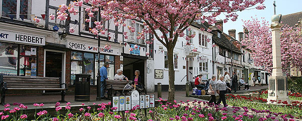 Shopping in East Grinstead