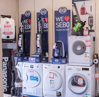 Vacuum Cleaners and more at Carters worthing