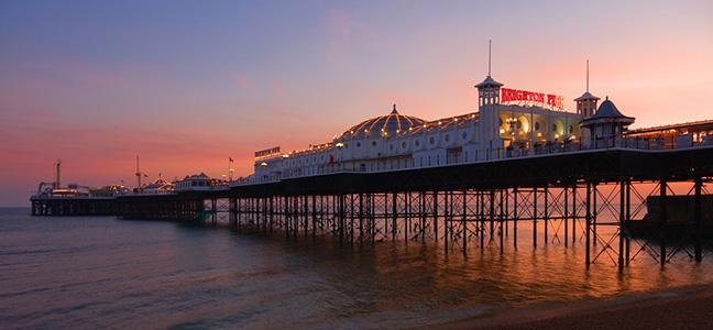 Brighton Pier known worldwide