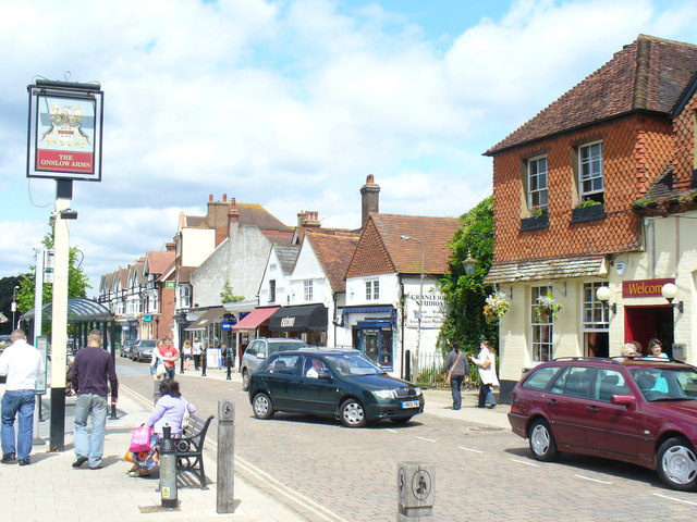 Another view of the Cranleigh High Street