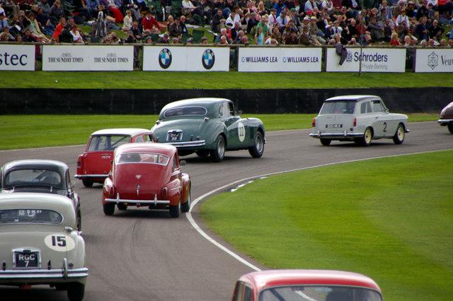 Goodwood motor racing near chichester