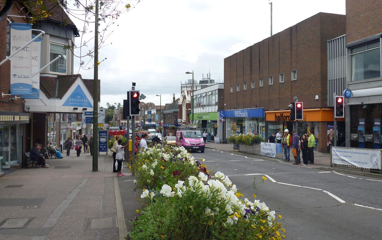 Haywards Heath Town Centre