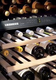 Liebherr wooden shelves