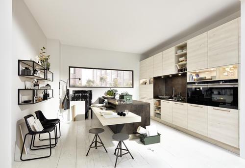 Nolte Modern metal kitchen