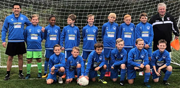 Storrington Vipers Under 11 football team