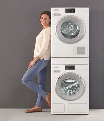 Washing Machine Stacking