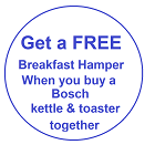 Bosch TWK4P439GB Kettle