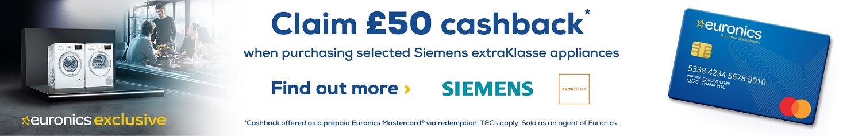Siemens Cashback Promotion