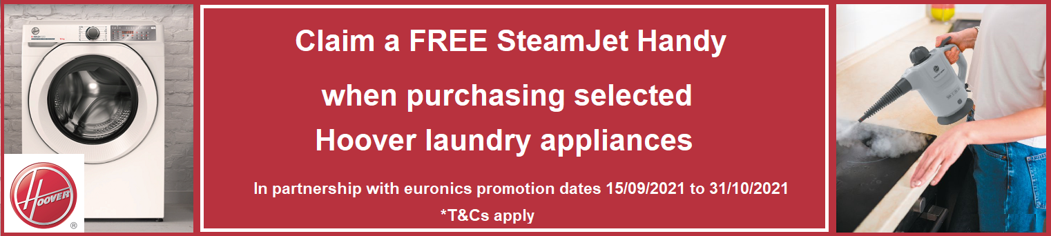 Hoover Free Steamjet Handy Promotion