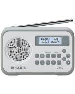 Roberts-Radio PLAY-WHITE-GREY/B Radio