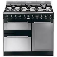Smeg SY93BL Range Cooker