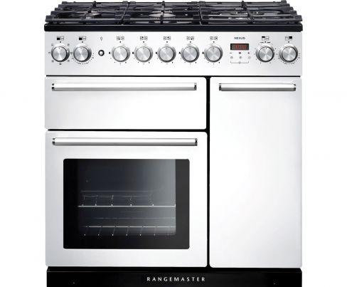 Rangemaster NEX90DFFWH/C Range Cooker