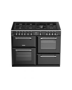 Stoves ST RICH DX S1100G BK Range Cooker