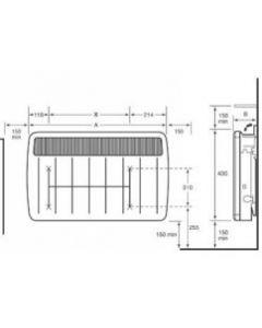 Dimplex PLX1500NC Heater/Fire