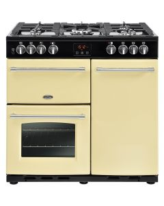 Belling FARMHOUSE90DFTCRM Range Cooker