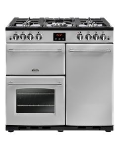 Belling FARMHOUSE90GSIL Range Cooker