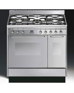 Smeg CC92MX9 Range Cooker