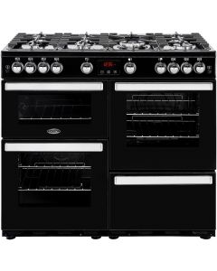 Belling COOKCENTRE100GBLK Range Cooker