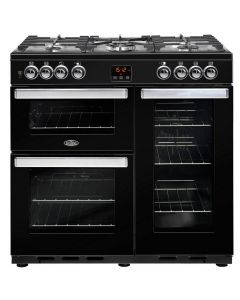Belling COOKCENTRE90DFTBLK Range Cooker