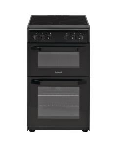 Hotpoint HD5V92KCB Oven/Cooker