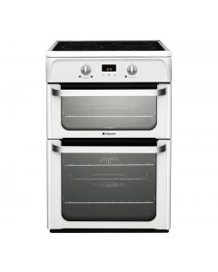 Hotpoint HUI612P Oven/Cooker