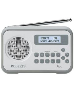 Roberts-Radio PLAY-DUO-GREY Radio