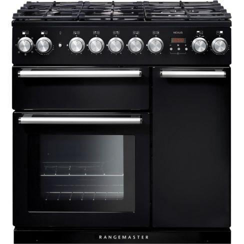Rangemaster NEX90DFFBL/C Range Cooker