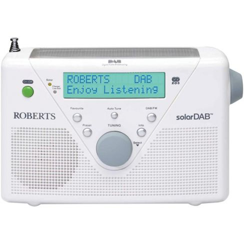 Roberts-Radio SOLARDAB2-WH Radio