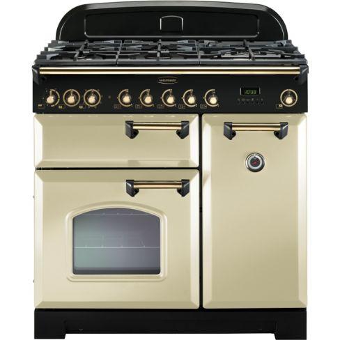 Rangemaster CDL90DFFCR/B Range Cooker