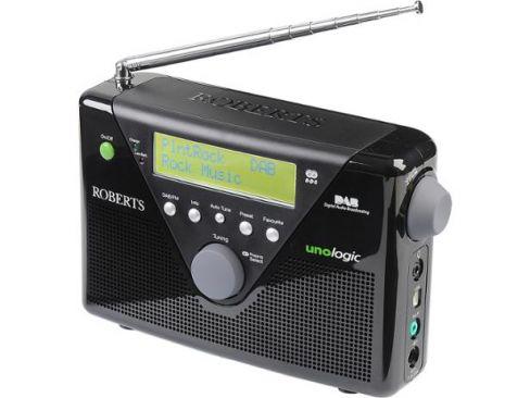 Roberts-Radio UNOLOGIC-BLK Radio