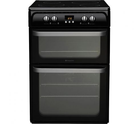 Hotpoint HUI614K Oven/Cooker