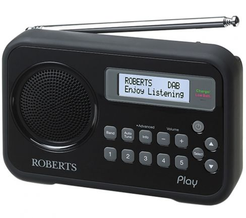 Roberts-Radio PLAY-BLK Radio