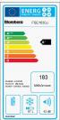 Blomberg FSE1630U Refrigeration