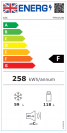 Lec TF50152W Refrigeration