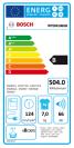 Bosch WTE84106GB Tumble Dryer