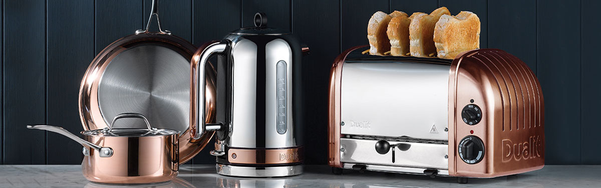 Dualit Copper Kitchen Range
