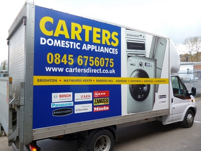 Carters deliver to East Grinstead