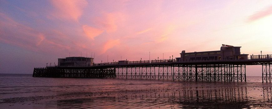 Worthing pier near Carters Domestic Appliances Teville Road