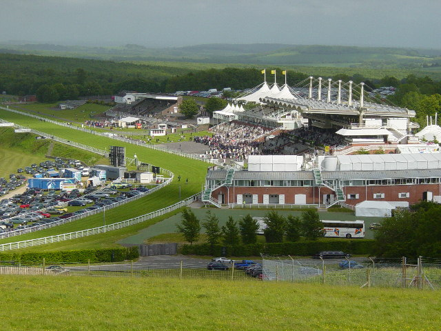 Goodwood horse racing near Chichester