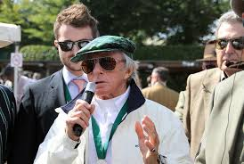 Jackie Stewart 3 time world champion at Goodwood
