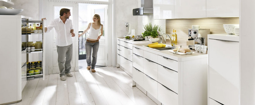 Nolte kitchens can be bespoke or modular