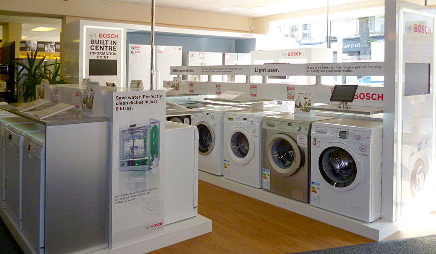 A great range of washing machines