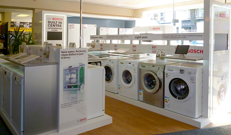 Bosch appliances at Carters