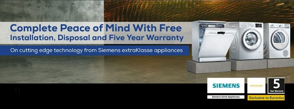Siemens Free Installation & Disposal Promotion