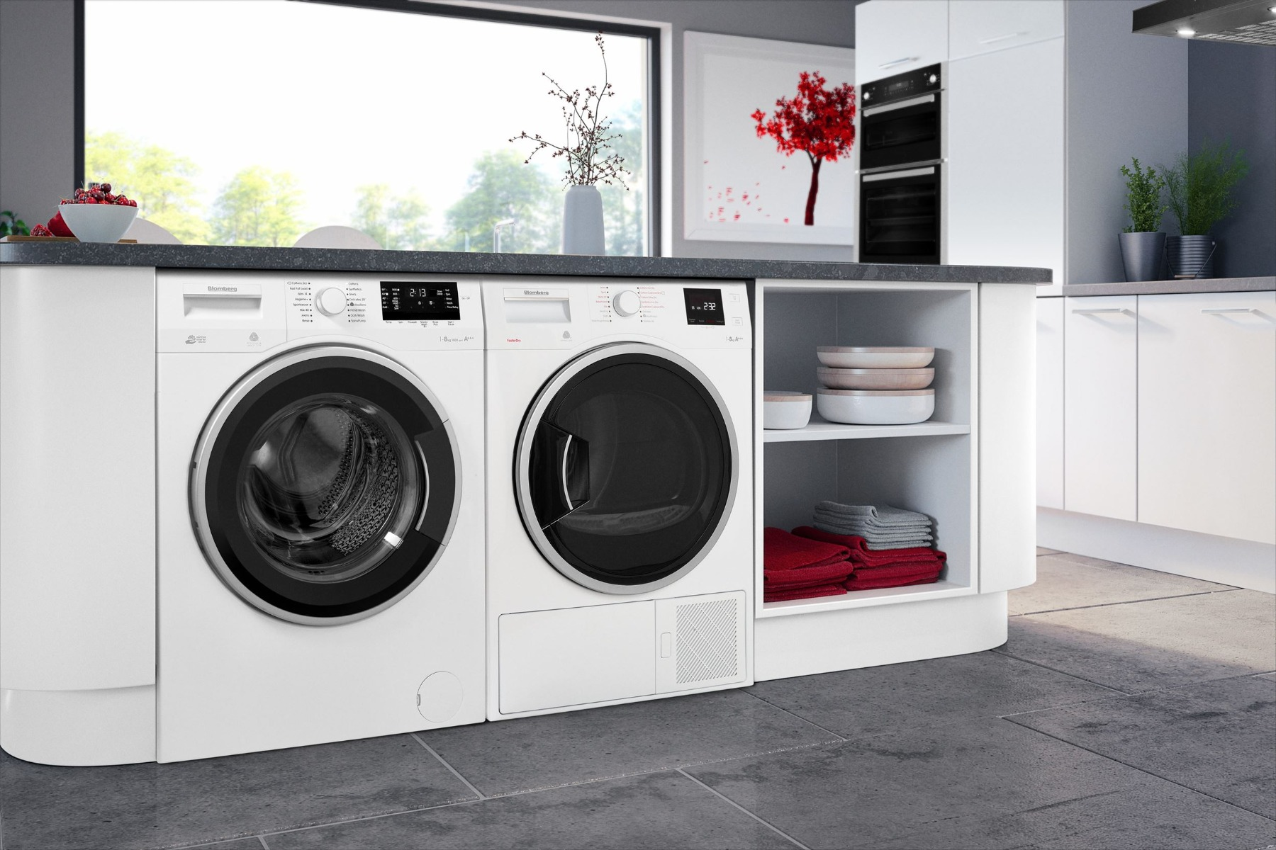 Blomberg Washing Machines and Tumble Dryers