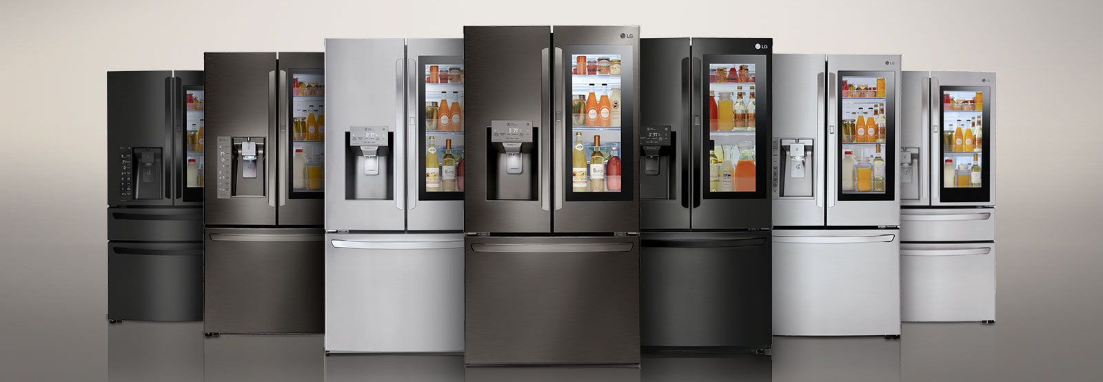 LG Instaview Fridge Freezers