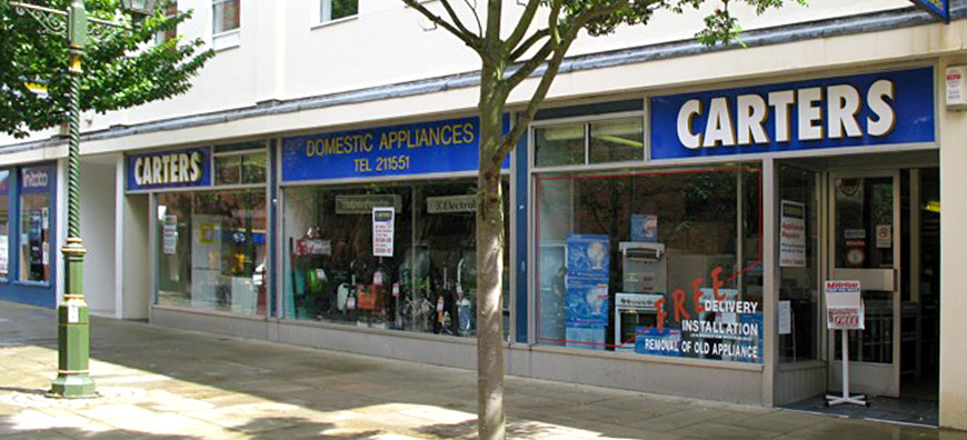 Carters In Horsham For Fridges Washing Machines And Home Domestic